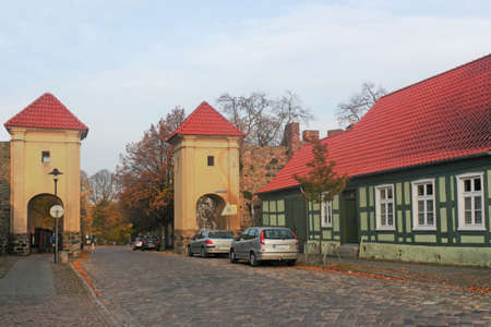 brandenburg home ownership: Eichwerder Gate Editorial