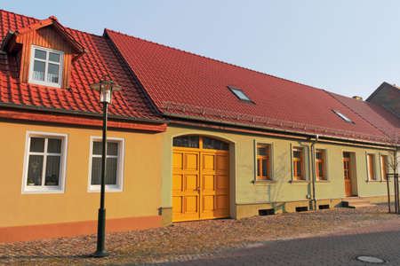 brandenburg home ownership: Residential Idyll in Gransee Editorial