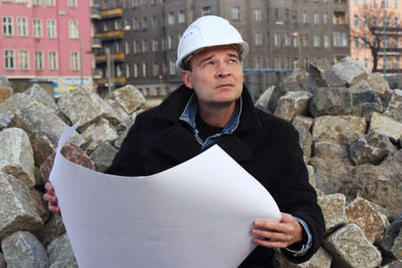 Construction Manager Stock Photo - 16392420