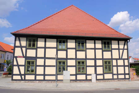 brandenburg home ownership: Half-timbered House Editorial