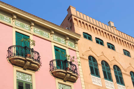 Residential palaces in Palermo photo