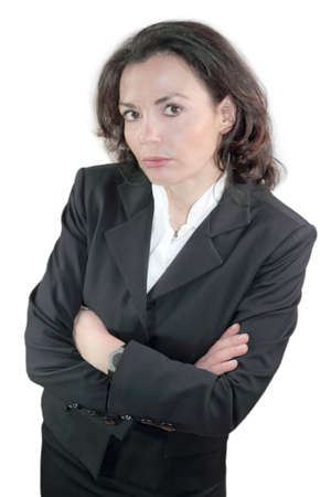 humiliated: Businesswoman offended