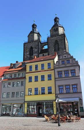 urban idyll: Wittenberg Old City Editorial