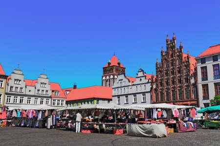 Greifswald Market Place Stock Photo - 17025246