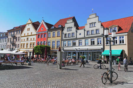 gable home renovation: Old City of Greifswald