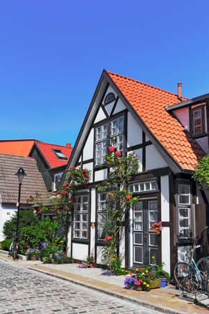 Colorful half-timbered house Stock Photo - 17025266