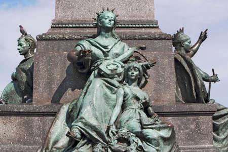 Sculptures in Krakow Stock Photo - 17025360