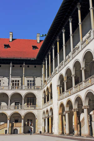 castle conditioning: Wawel Palace Editorial