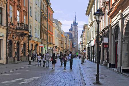 town idyll: Krakow Florianska