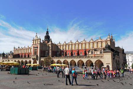 cloth halls: Krakow Cloth Hall