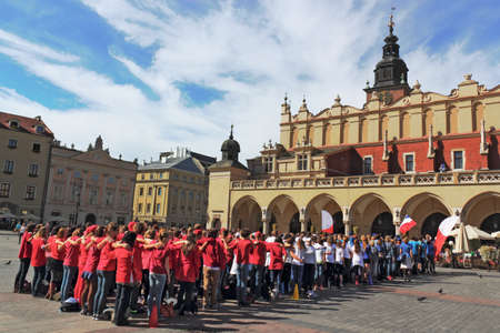 cloth halls: Tourism in Krakow