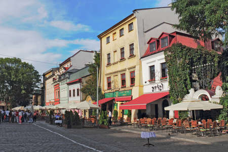 southern poland old building: Jewish Quarter