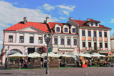 southern poland old building: Rzeszow marketplace