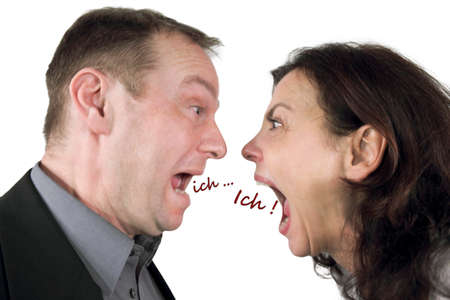 argumentative: egoism
