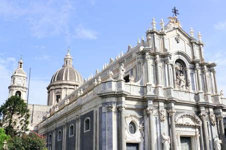 sant agata: Duomo di Sant Agata Stock Photo