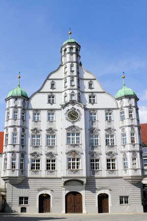 gable home renovation: City Hall Memmingen