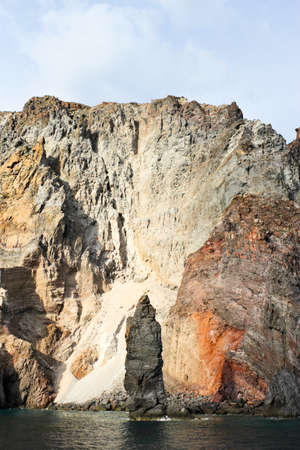 eolie: volcanic Island Stock Photo