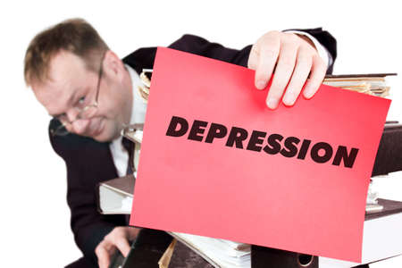 Depression Stock Photo - 17261082