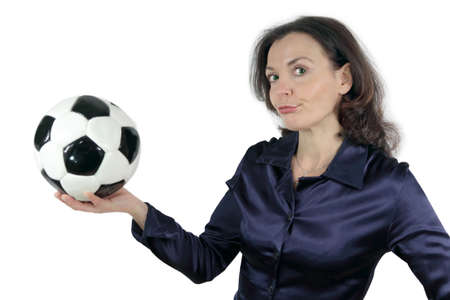 muffle: football frustration Stock Photo
