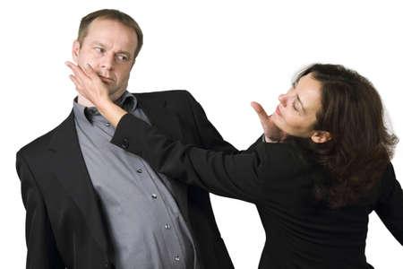 business rival: slap