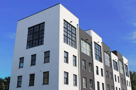 facade: Edificio moderno