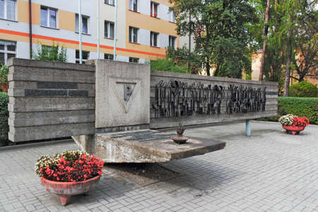 polska monument: Monument of the First transport