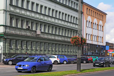 southern poland old building: Rzeszow Stock Photo