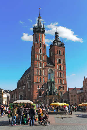 Krakow St  Mary&acute,s Church