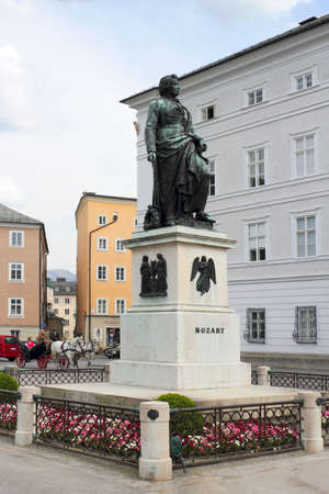mozart: Salzburg Mozart Memorial