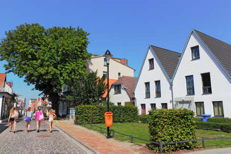 town idyll: Warnemuende Old City