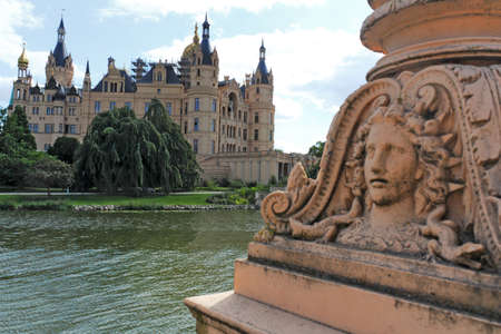 castle conditioning: Schwerin Palace
