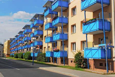 condominiums built: Prefab