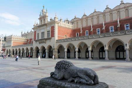 Krakow Cloth Hall Stock Photo - 17949948