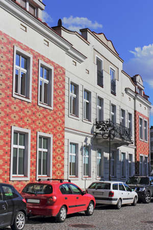 southern poland old building: Renovated old buildings