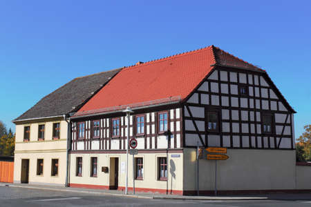 Old half-timbered house Stock Photo - 17949943
