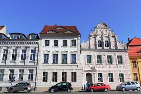 house gable: Old City of Luckau