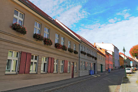 brandenburg home ownership: old city of Strausberg Editorial
