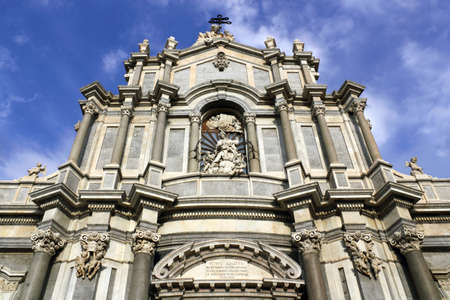 Cathedral of Catania Stock Photo - 18295900
