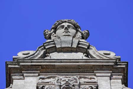 New City Hall Detail Stock Photo - 18403259
