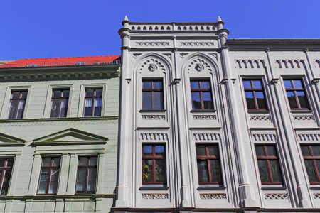 mietspiegel: Old Building Facades Editorial