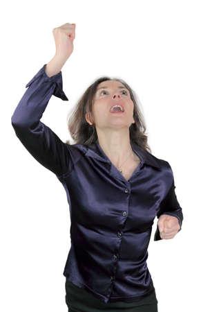 high spirited: cheer Stock Photo