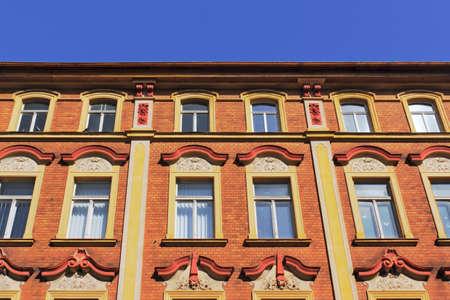 stucco facade: Stucco Facade