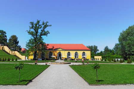 castle conditioning: Kloster Neuzelle