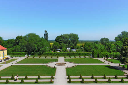 castle conditioning: Park in Neuzelle