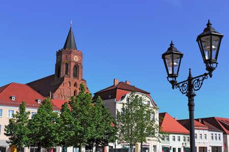 lower lusatia: Beeskow Stock Photo