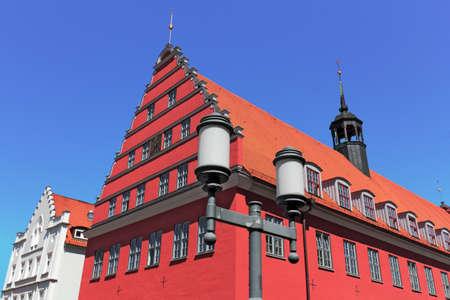 house gable: City Hall Greifswald