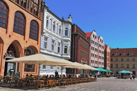 gable home renovation: Stralsund Marketplace Editorial