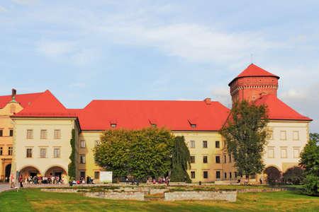 castle conditioning: Krakow Wawel