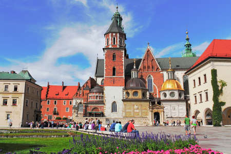 southern poland old building: St  Wenceslas and the Stanislaus Cathedral