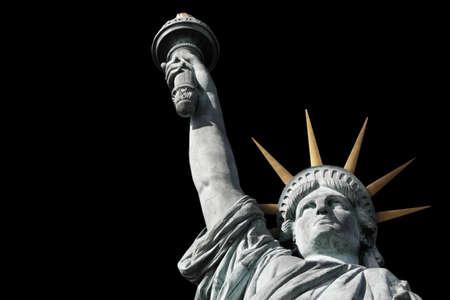 self awareness: statue of Liberty Stock Photo